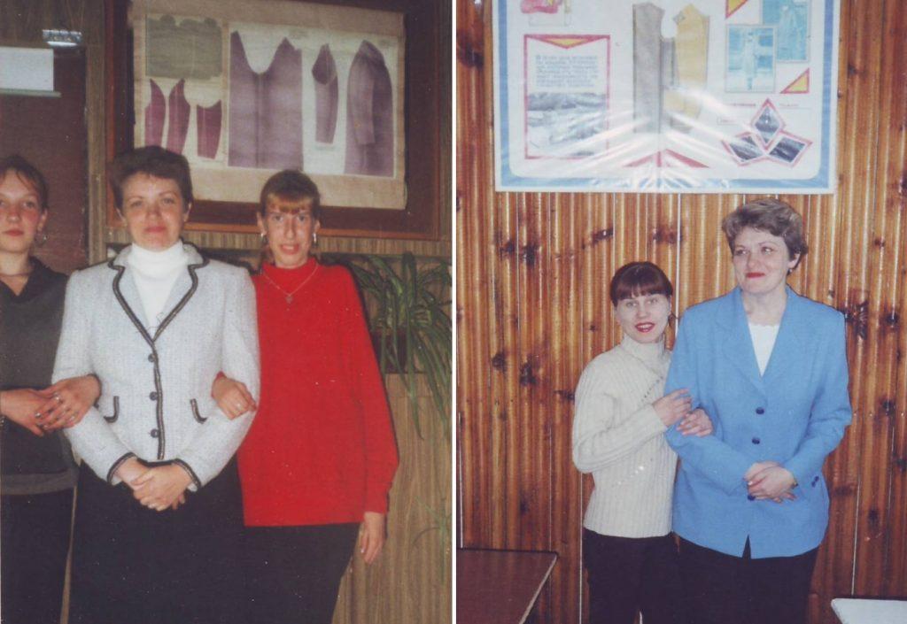Период работы в швейном училище