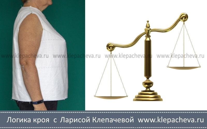 балансовые нарушения в одежде